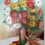 Art Pm302 Dipinto Floreale Campagnolo